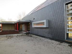 Atelier Schraa Zwartsluis - natuurleien en gevelbeplating