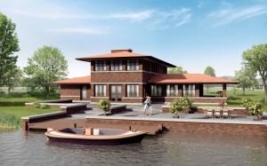 Artes Architecten Groningen - gevelsteen en dakpannen